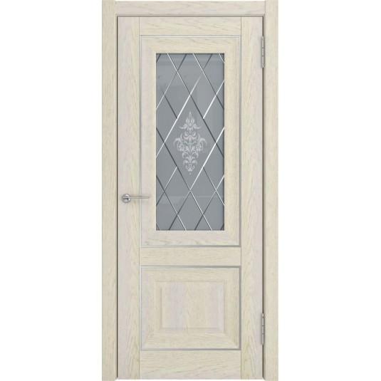 Межкомнатные двери ЛУ-62 Дуб айвори