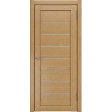 Межкомнатные двери ЛУ-7 Орех (белый триплекс)