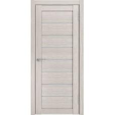 Межкомнатные двери ЛУ-7 Капучино (белый триплекс)