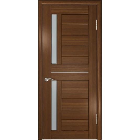 Межкомнатные двери ЛУ-27 Тёмный орех
