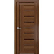Межкомнатные двери ЛУ-17 Тёмный орех сатинат