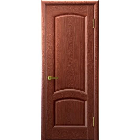 Межкомнатные двери Лаура (красное дерево)
