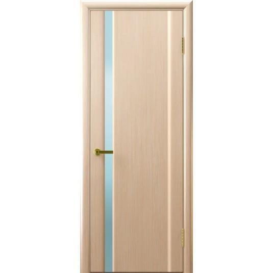 Межкомнатные двери СИНАЙ 1 (белый дуб)