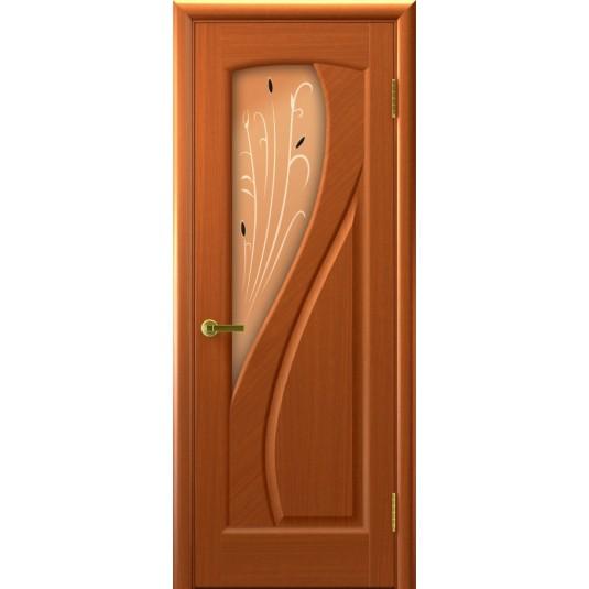 Межкомнатные двери МАРИЯ (Темный Анегри Т74, стекло)
