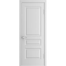 Межкомнатные двери Модель L-2 (дг) белая эмаль