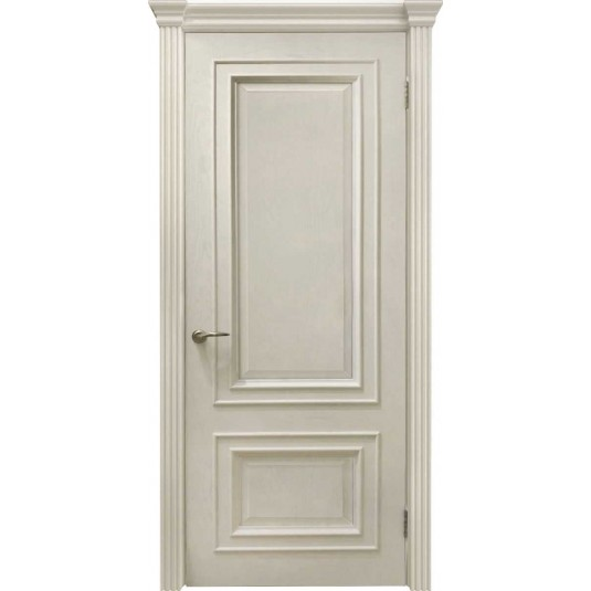Межкомнатные двери Венера (багет, дуб карамель, глухая)