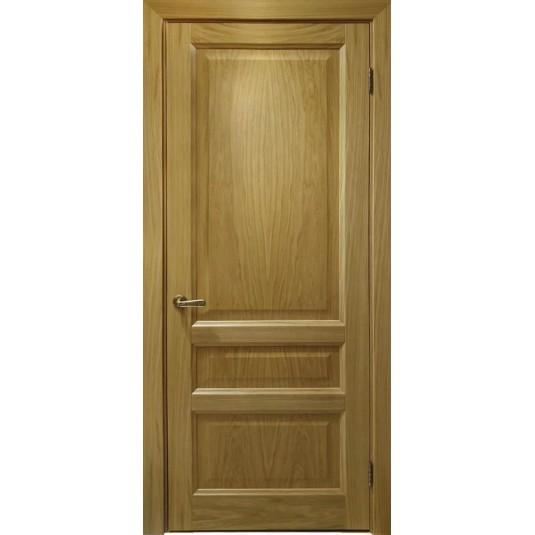 Межкомнатные двери Атлантис-2 (дуб натуральный, глухая)