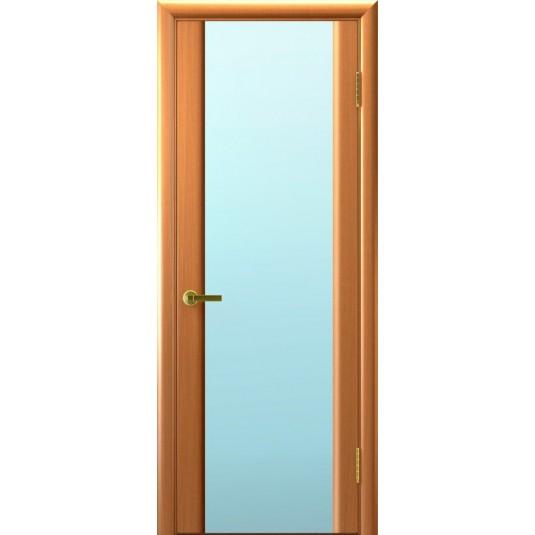 Межкомнатные двери Синай 3 (Светлый Анегри, стекло белое)