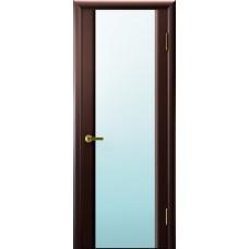 Межкомнатные двери Синай 3 (венге, стекло белое)
