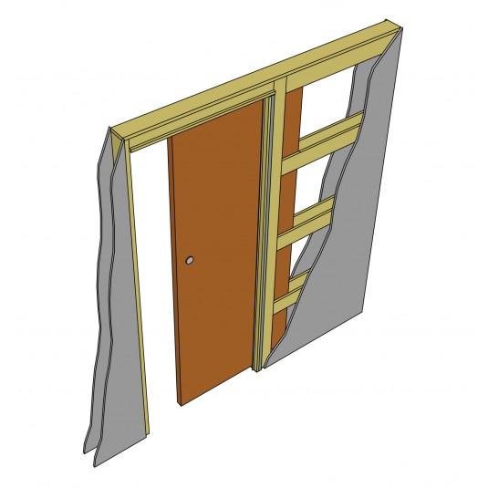 Пенал для одной раздвижной двери