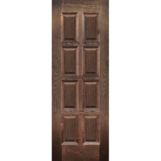 Дверь шпонированная Дворецкий Финестра ДГ цвет английский дуб