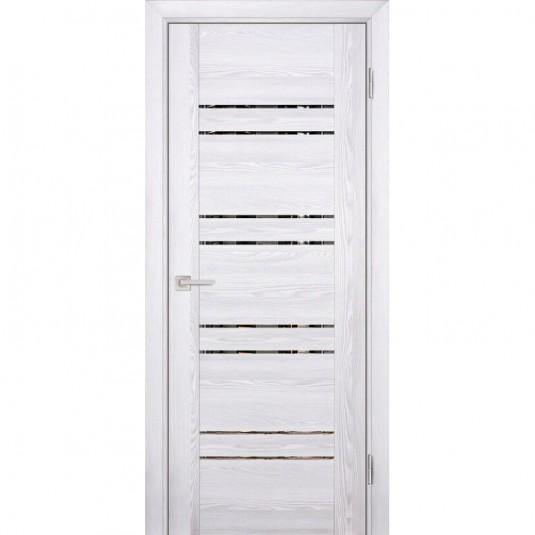 Дверь Profilo Porte PSK-1 ДО Ривьера айс с тонированным зеркалом