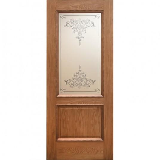 Дверь шпонированная Дворецкий Эллада ДО натуральный дуб