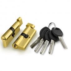 Цилиндровый механизм Punto A202/60 mm (25+10+25) PB латунь 5 кл.