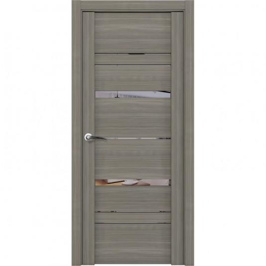 Дверь Uberture 30023 Софт Тортора серое зеркало