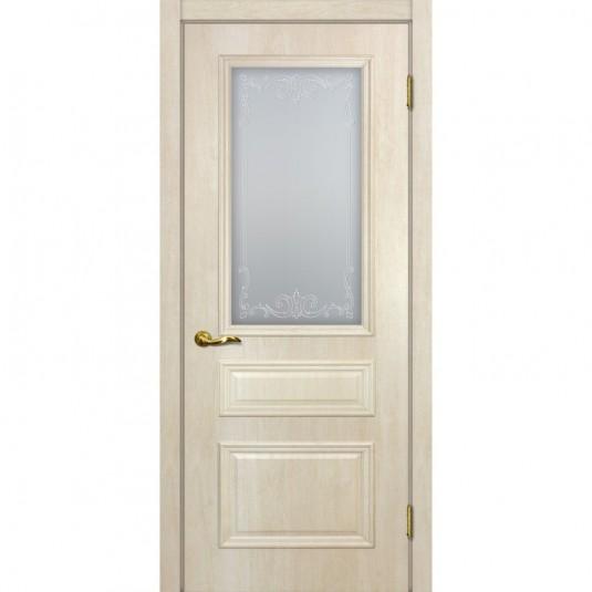 Дверь ПВХ Мариам Верона 2 ДО Дуб бриош
