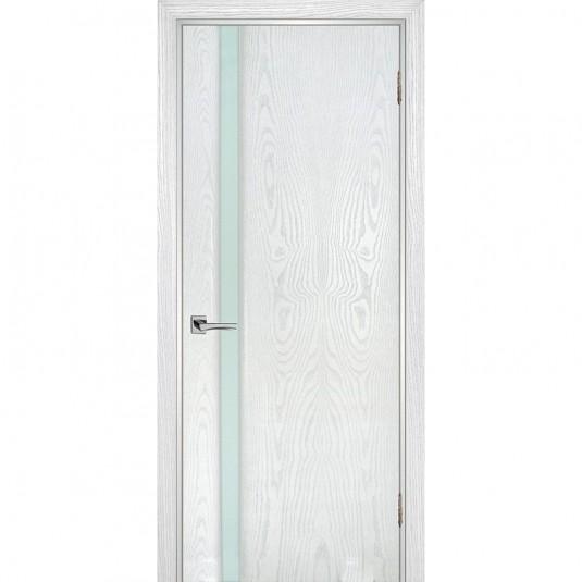 Дверь шпонированная Текона Страто 01 ДО Ясень айсберг