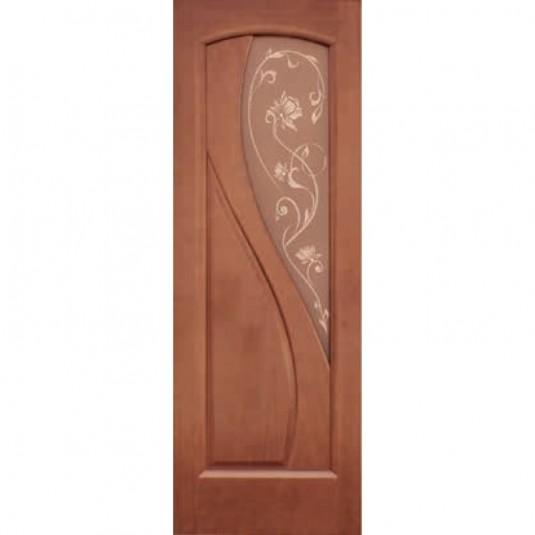 Дверь шпонированная Дворецкий Версаль ДО темный анегри