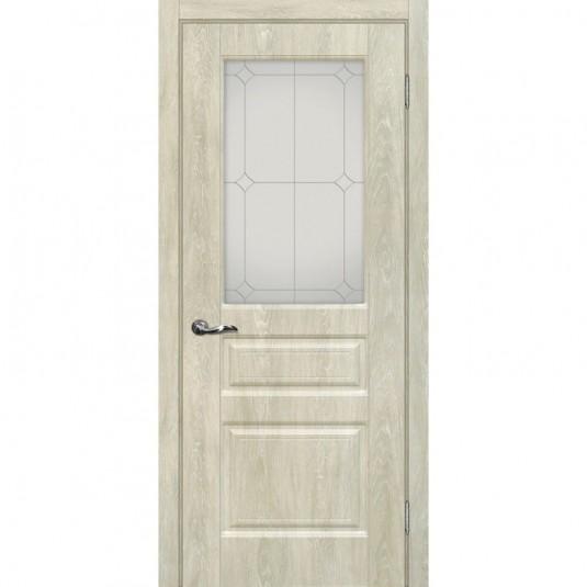 Дверь ПВХ Мариам Версаль 2 ДО Дуб седой