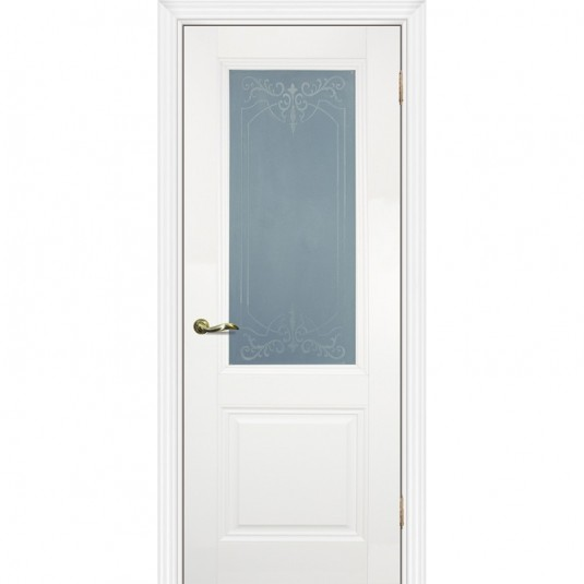 Дверь Profilo Porte PSC-27 ДO Белый со стеклом Сатинат