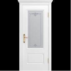 Дверь BP-DOORS Аккорд В1 ДО1 Эмаль белая