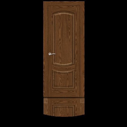 Дверь шпонированная Ситидорс Калисто ДГ Дуб мореный