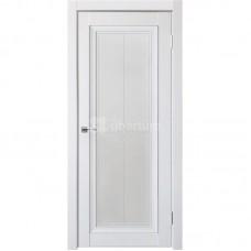 Дверь ПВХ Uberture Деканто ПДО 2 ДО Barhat white