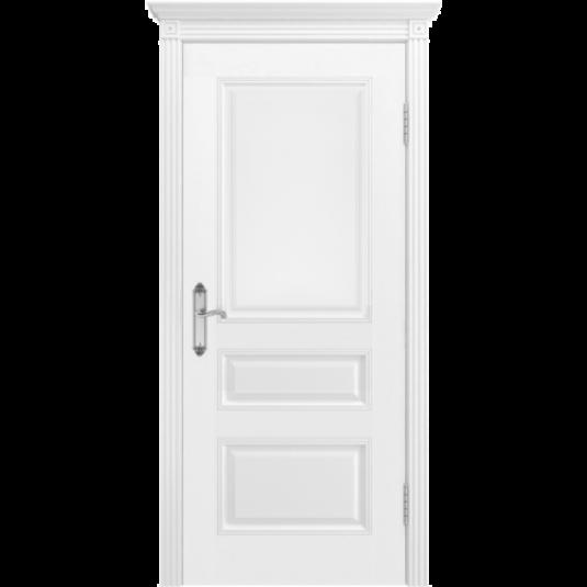 Дверь BP-DOORS Трио В1 ДГ Эмаль белая
