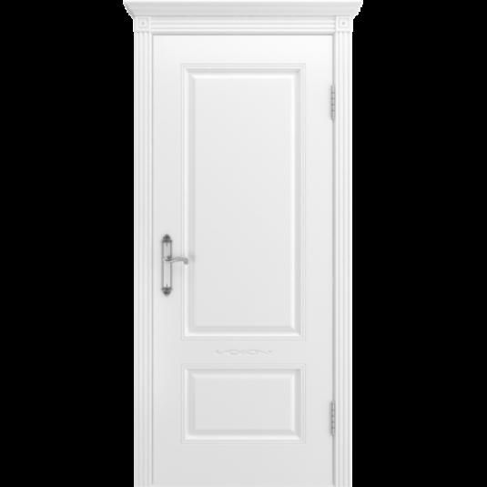 Дверь BP-DOORS Аккорд В1 ДГ Эмаль белая