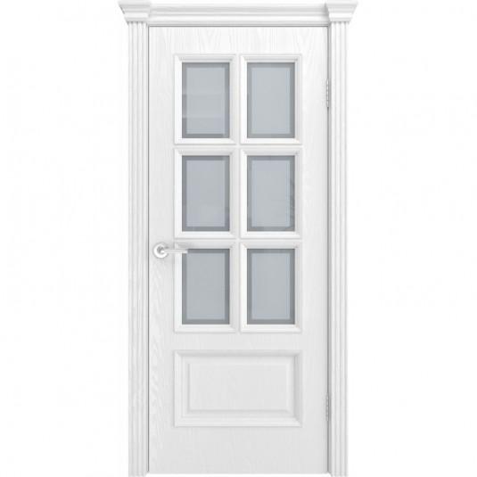 Дверь шпонированная Текона Фрейм 10 ДО Ясень белоснежный