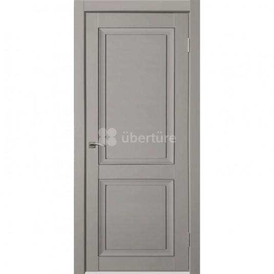 Дверь ПВХ Uberture Деканто ПДГ 1 ДГ Barhat grey