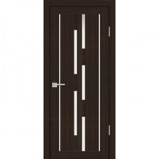 Дверь Profilo Porte PS-33 Венге мелинга со стеклом Сатинат