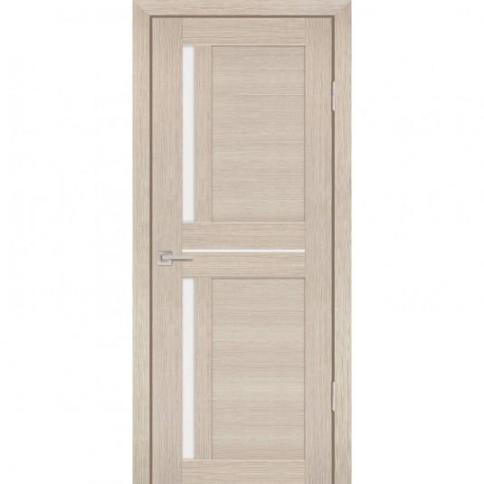 Дверь Profilo Porte PS-19 Капучино мелинга со стеклом Сатинат