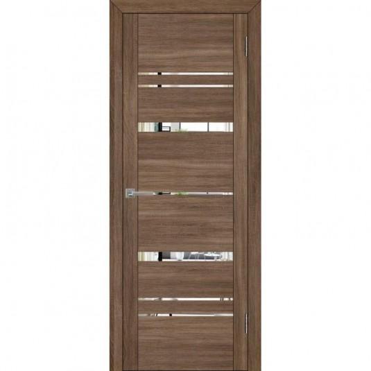 Дверь Uberture 30027 Серый велюр с зеркалом