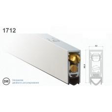Автопорог-уплотнитель дверной врезной Venezia 1712/800 мм регулировка 2-ух уровневая