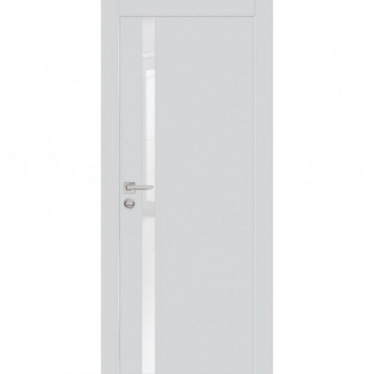 Дверь Profilo Porte PX-8 ДО Агат со стеклом Лунный Лакобель