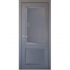 Дверь экошпон Uberture 108 ДО Серый бархат