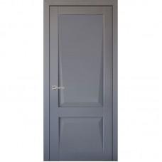 Дверь экошпон Uberture 101 ДГ Серый бархат