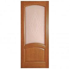 Дверь шпонированная Дворецкий Соло ДО темный анегри