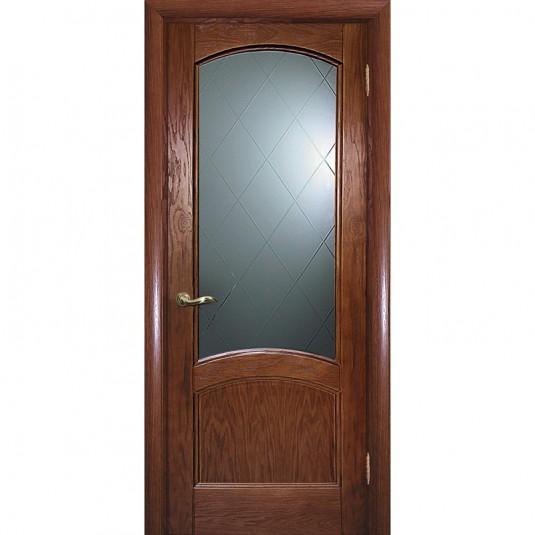 Дверь шпонированная Текона Вайт 01 ДО Дуб