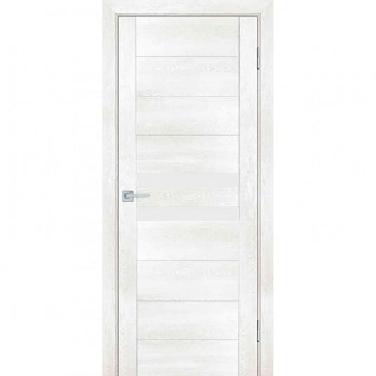 Дверь Profilo Porte PSN-4 ДО Бьянко антико со стеклом Белый Лакобель