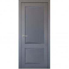 Дверь экошпон Uberture 102 ДГ Серый бархат