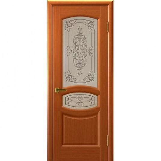 Дверь ульяновская Топаз(Комфорт) тёмный анегри ДО