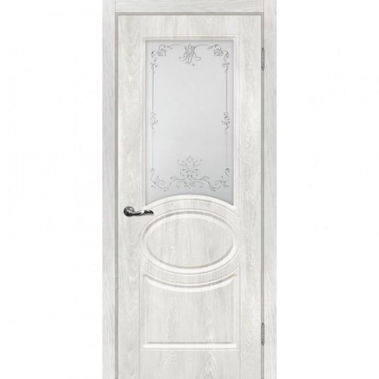 Дверь ПВХ Мариам Сиена 1 ДО Дуб жемчужный