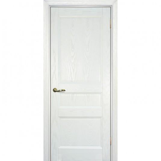 Дверь шпонированная Текона Вайт 02 ДГ Ясень айсберг