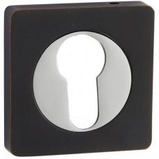 Накладка под цилиндр ET02BL чёрный с патиной