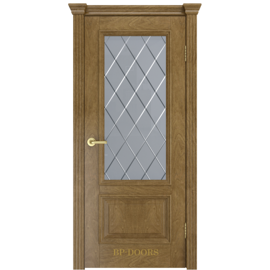 Дверь шпонированная Milyana Лондон ДО дуб виски