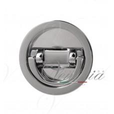 Ручка для раздвижной/распашной двери на круглом основании VENEZIA U155 блестящий хром