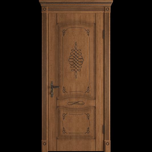 Дверь ВФД Classic Art Vesta Honey Classic с патиной