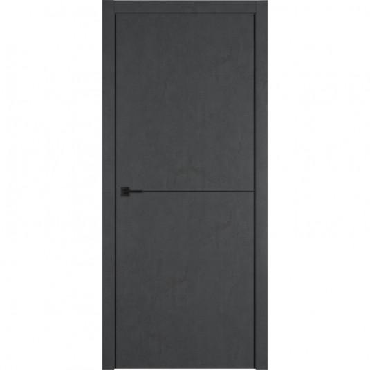 Дверь ВФД Urban Loft Urban 1 Jet Loft c черной AL кромкой